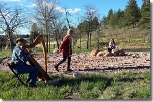 labyrinth stories Lyrical Life Ceremonies Colorado