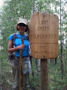 Diane Gansauer specializes in Weddings in the Wilderness