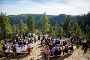 Weddings in the Wilderness in Colorado